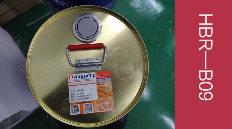 汉钟HBR-B09冷冻油产品参数
